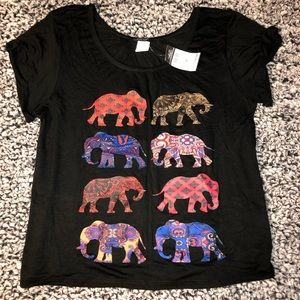 🆕 Rue 21 • Women's Elephant Blouse